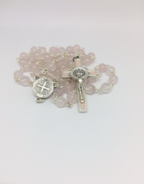 Rose Quartz Superior Rosary